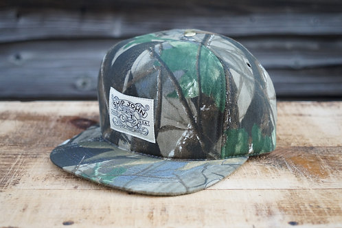 Cotton Trucker Hat - Real Tree
