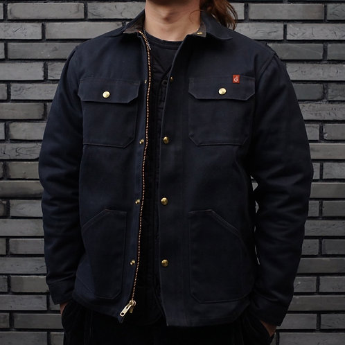 The Wills Jacket -Waxed Canvas- Black