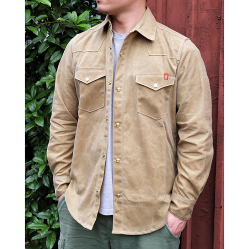 Townes Shirt -Waxed Canvas