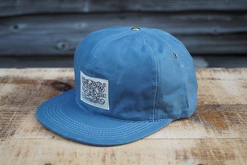 Wills Waxed Cap - Slate Blue
