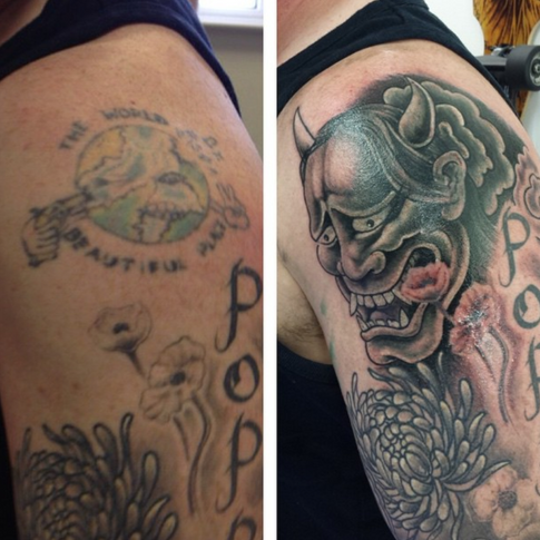 Cover-up by Rob