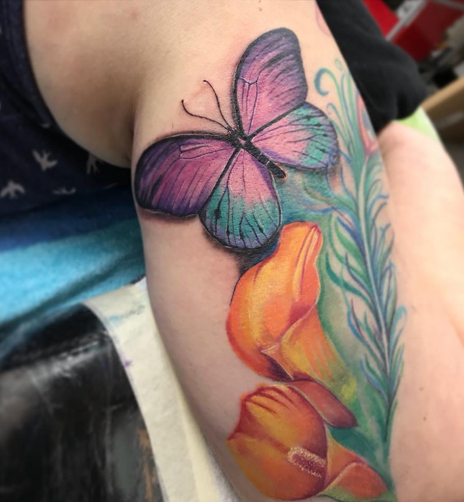 Butterfly Tattoo Meanings