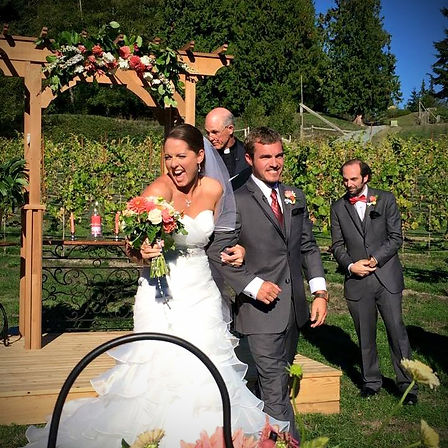 Dancing Fish Vineyards - Weddings on Whidbey Island