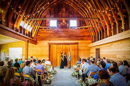 Dancing Fish Vineyards Barn Wedding