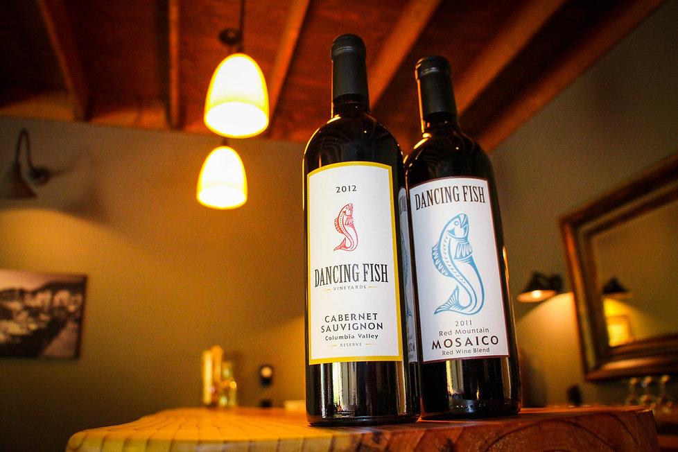 Dancing Fish Vineyards - Inside the Wine Tasting Room