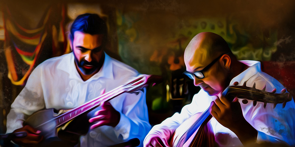 Music at the Dancing Fish: Andre Feriante and Troy Chapman