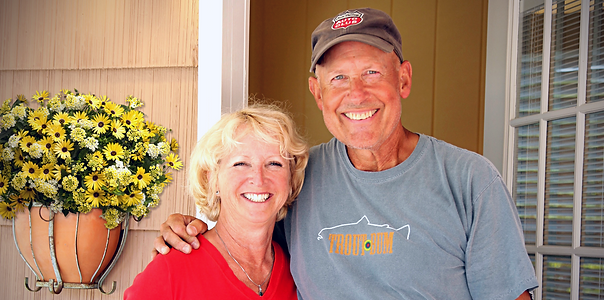 Dancing Fish Vineyards - Brad and Nancy Thompson - Owners
