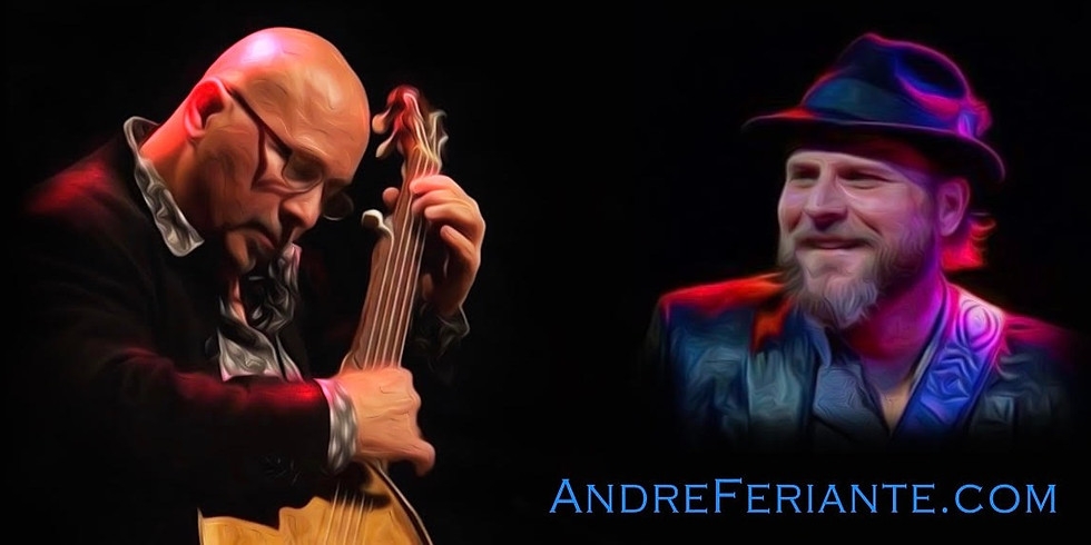 Music at the Dancing Fish: Andre Feriante & Eric Fridrich