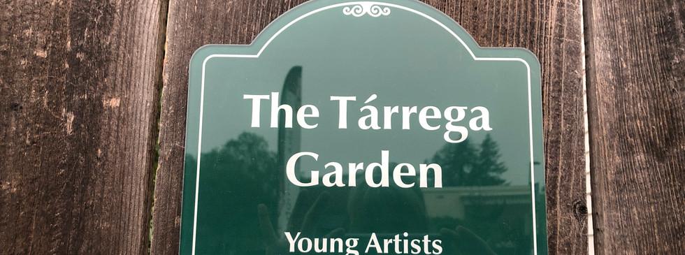 Tarrega Garden at Young Artists Conservatory of Music, Vacaville