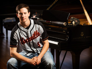 Meet Tyler Smith: Vacaville Baseball Star and Rising Concert Pianist