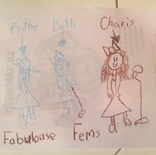 Femmes Tribute - Olivia Age 8