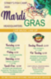 SBS -Marti Gras Live Music - 11x17 -  2-