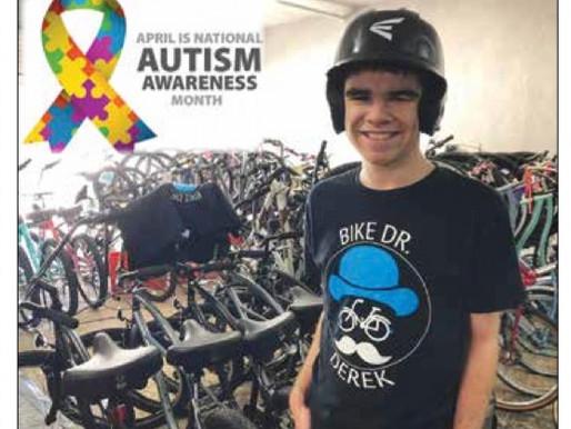 Bike Dr. Derek Featured in Florida Bicycle Association Messenger #CyclingThroughAutism