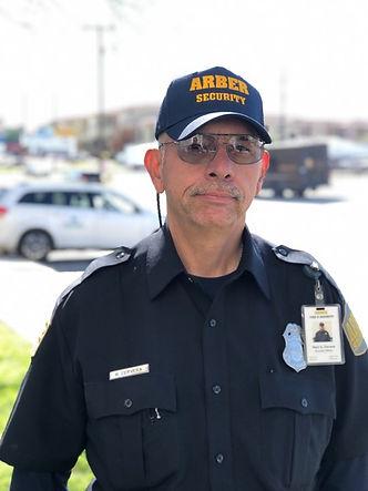 Security guard. San Antonio.