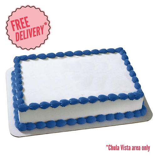 Rectangular Ice Cream Cake