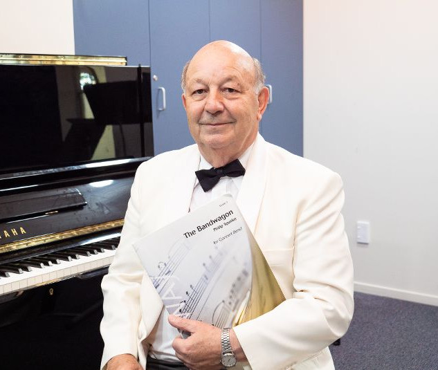 Our musical director, John Snowling
