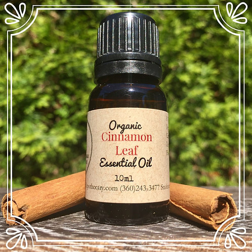 Organic Cinnamon Leaf Essential Oil 10ml
