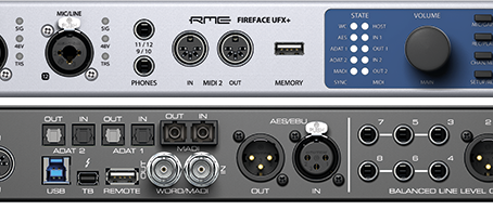Gear Review: RME's Fireface UFX+ Recording Interface & ARC-USB Remote
