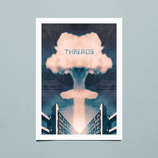 Threads inspired Sheffield art print
