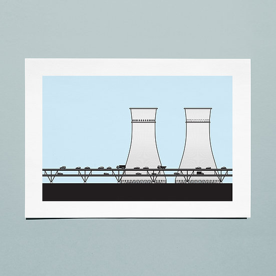 Cooling Towers, Sheffield