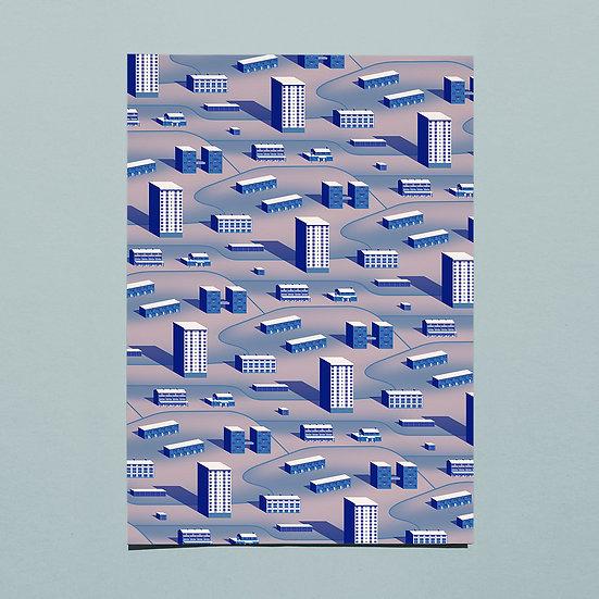 Hillside Estate Pattern - tint two