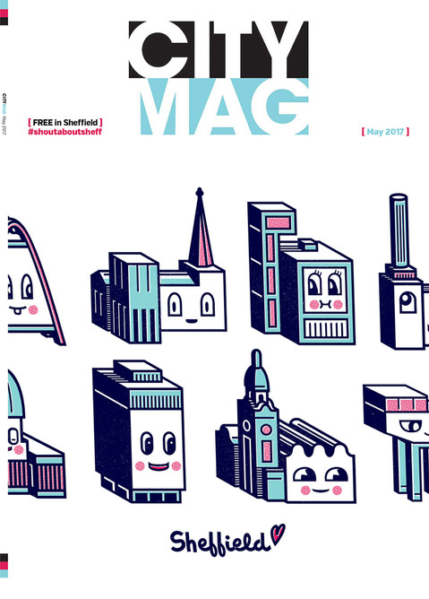 City Mag 'Home Toons' cover