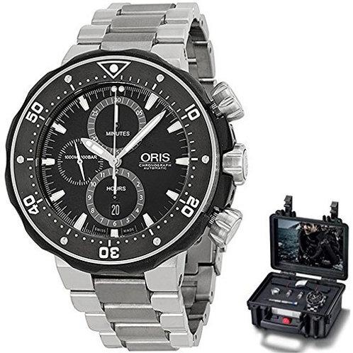 Oris Pro Diver Chronograph Men's Watch Set 774 7683 7154 MB