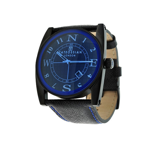 Tateossian Gulliver Sport Colore Watch in Blue, WA0048