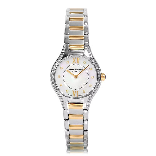 Raymond Weil Noemia Ladies 62 Diamond Watch, 24mm 5124-SPS00985