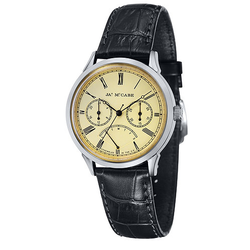 James McCabe Heritage Analog Quartz Men's Watch, JM-1019-02