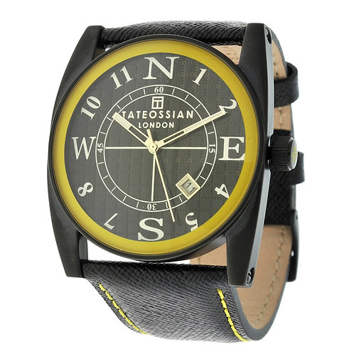Tateossian Gulliver Sport Colore Watch in Yellow, WA0049
