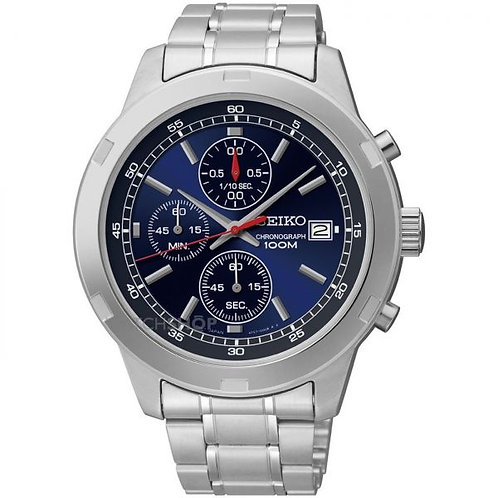 Seiko Men's Neo Sports Chronograph, SKS419P1