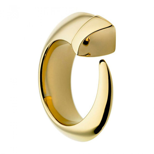 Shaun Leane Yellow Gold Tusk Open Ring