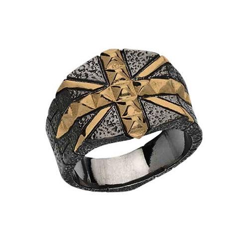 Stephen Webster Rose Gold Union Jack Ring