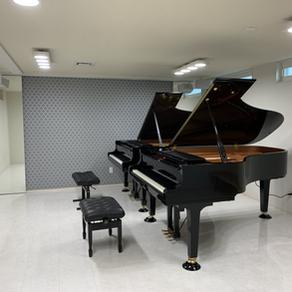 ピアノ部屋の空間づくり
