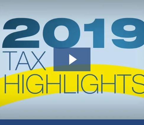 2019 Individual Tax Highlights