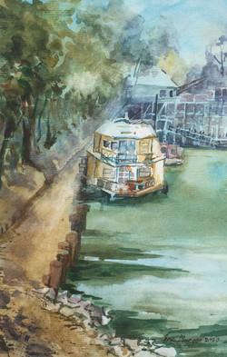 554. 'Echuca Wharf'