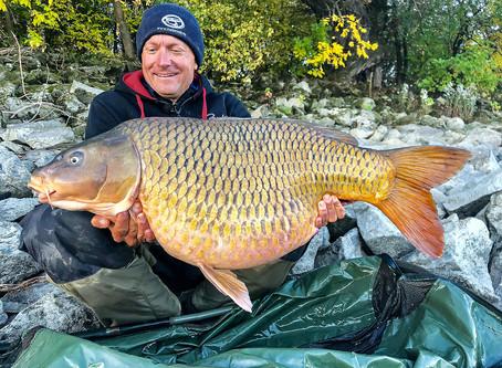 Dunai nagyponty-horgászatom