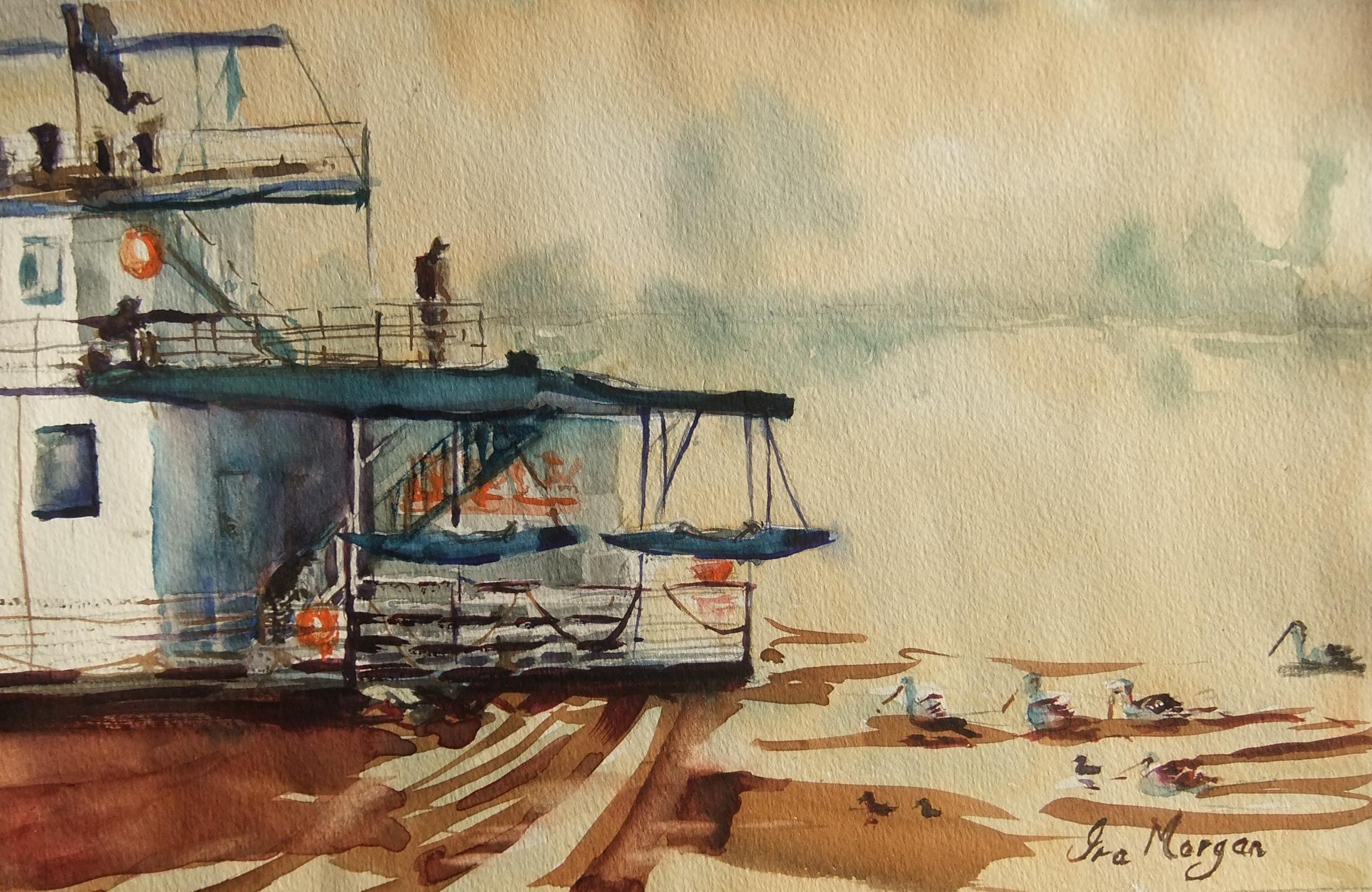191. 'Houseboat Swan Reach'