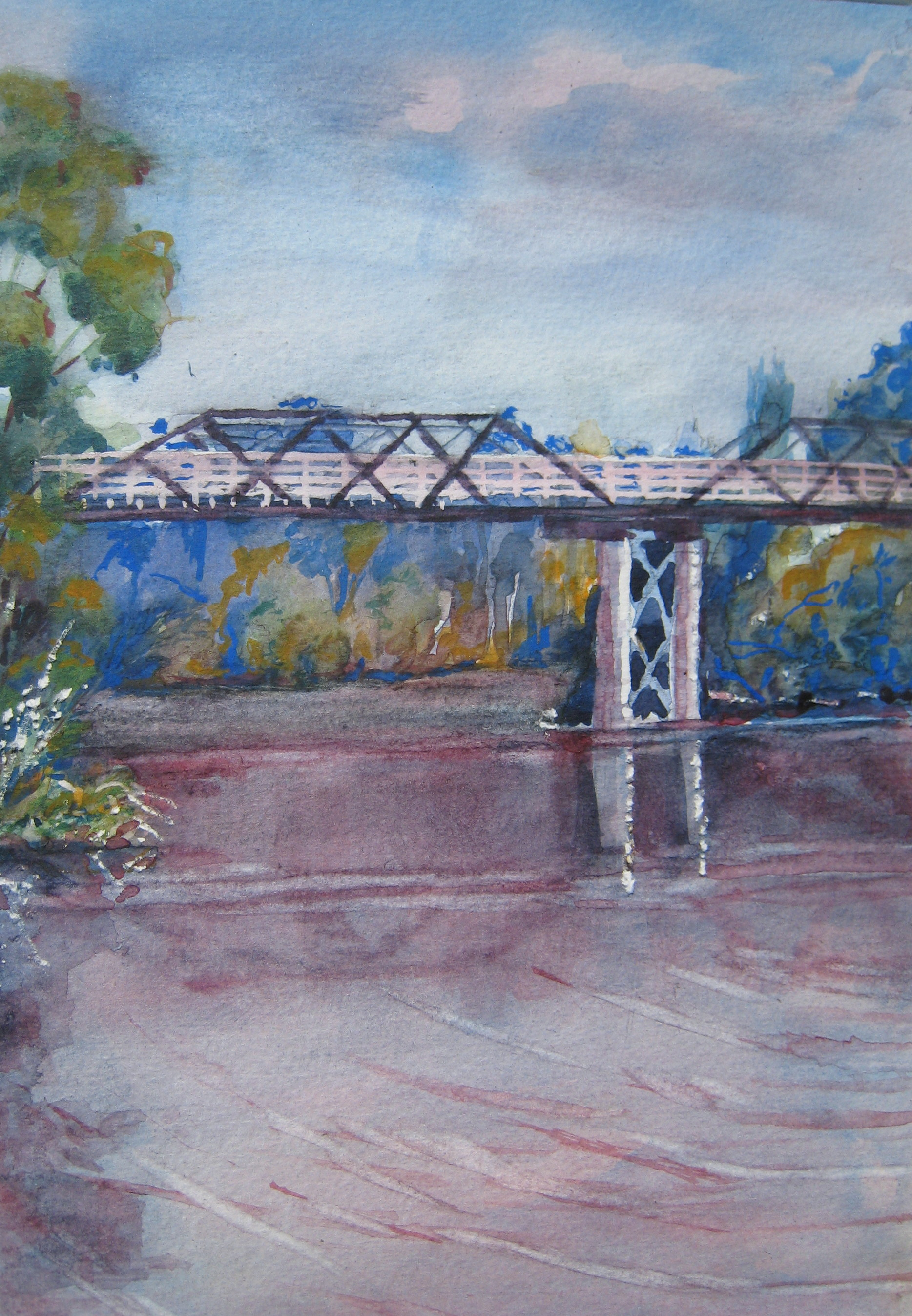 9. ' Clarencetown bridge'