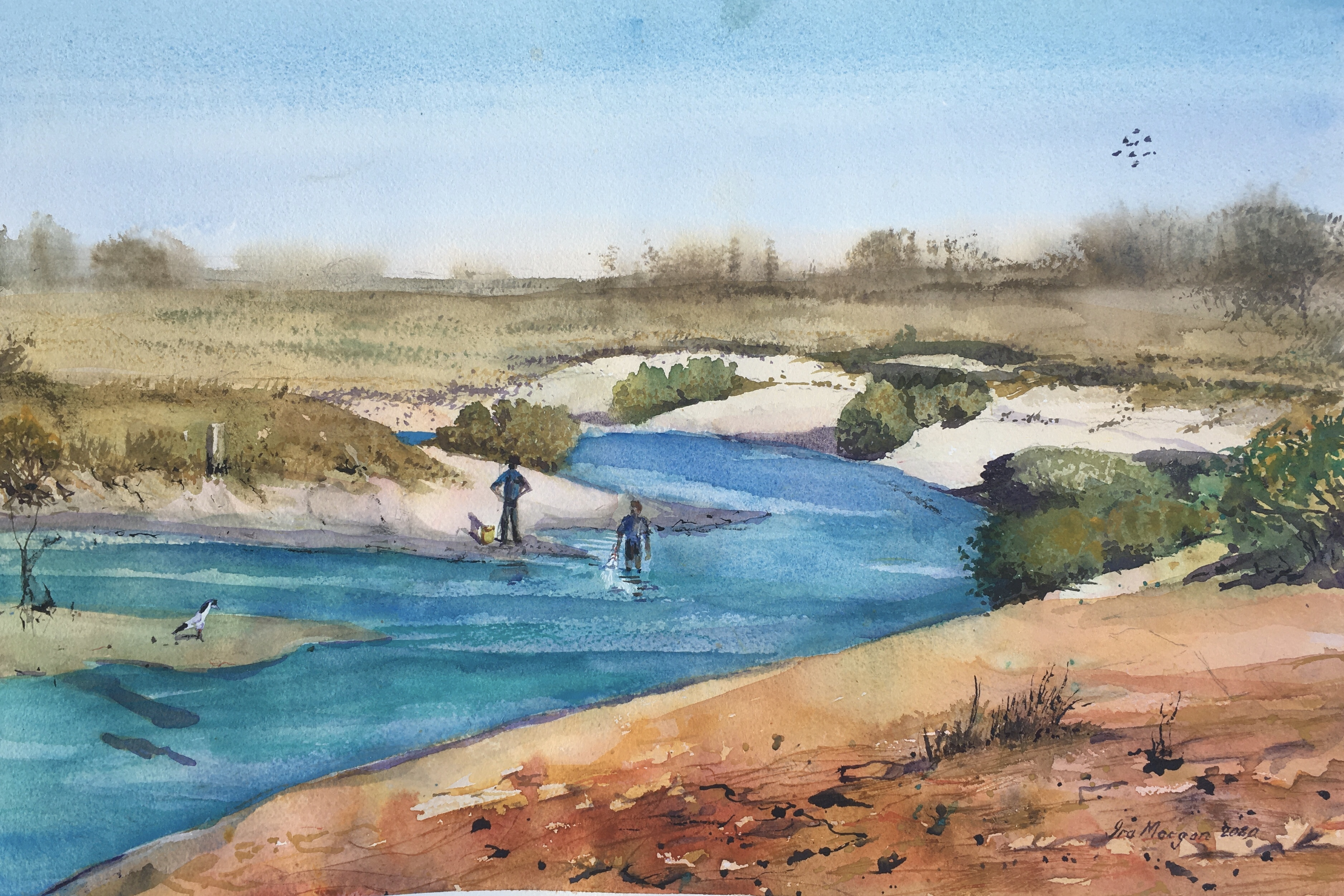577. 'Cootenbrand Creek Cape Keraudron N.T.'