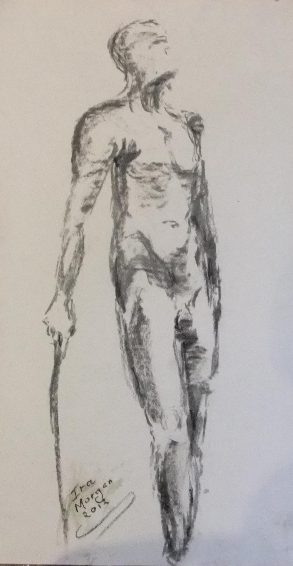 158. ' Charcoal Man'