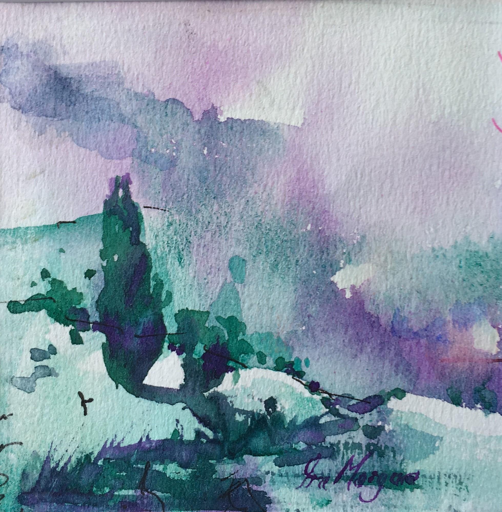 450. 'Misty hills'