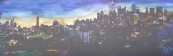 133 . 'Sydney city night lights'