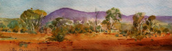 189. ' Distant hill view Mt Gould'