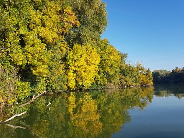 A megnyugodott folyón