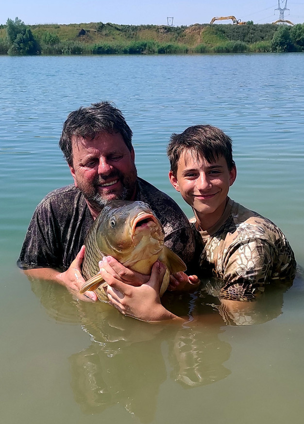 Horgásztúra a Monster Carp Lake-n