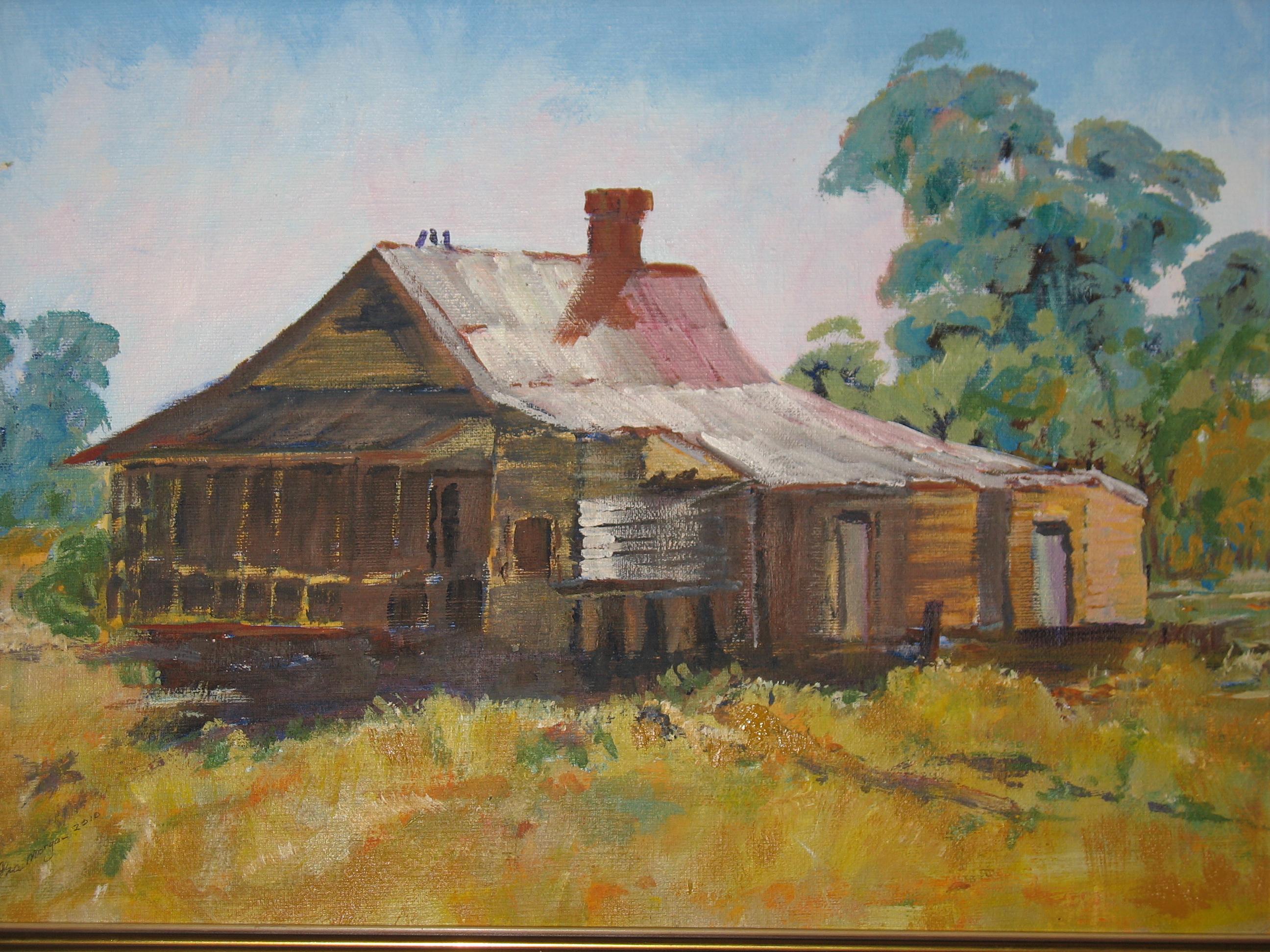 83. ' Old railway house Gilgandra '