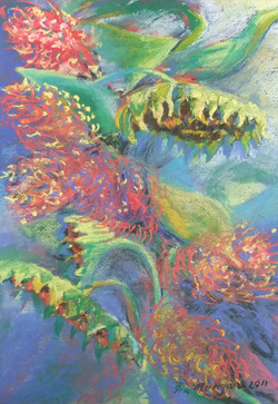 123. 'Sunflower Arrangement'