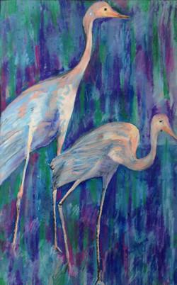 40. 'Pastel Birds'